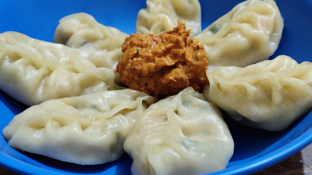 Potato Cheese Momos Recipe